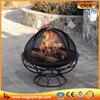Outdoor high mesh circular multifunctional steel fire bowl
