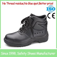 SF855 black steel toe cap mens china construction safety shoes