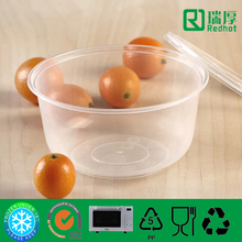 food grade plastic container / Disposable lunch box / microwave deli container 500ml
