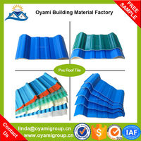 Save up to 30% discount beautiful appearance roofing sheets corrugated pvc color for industrial warehosue