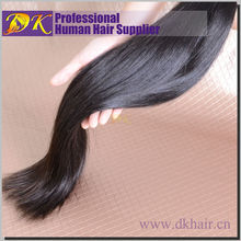 Cheaper price best quality 100% virgin human hair extension best selling hair extension 16 inch straight hair extension