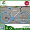 De China aero bici fija del engranaje de acero al carbono de 24 '' / bicicleta fija del engranaje made in China
