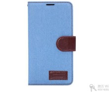 flip pu cowboy leather wholesale cell phone case for note4