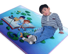 High quality anti slip printed foam floor mat rubber mats for kid