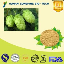 natural plant extract Beer Flower Extract /Flavonoids,Xanthohumol Hops Flower Extract for Beer