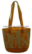 2013 luxury degradable non woven bag w long handle