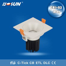 2014 china 15w ceiling cob led downlight/led downlight price