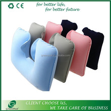 Hot selling fashion comfortable inflatable pillow