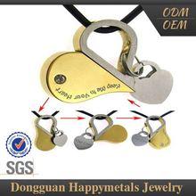 süper kaliteli bir marka yeni tasarım 14k altın om kolye takı