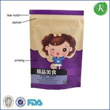 custom eco friendly white biodegradable PVC plastic zipper bags transparent for packing