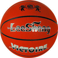 Quality first moisture absorbing PU basketball leather ball