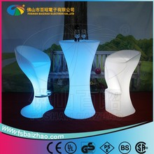 color changing Led furniture lighting rechargeable disco KTV nightclub bar table