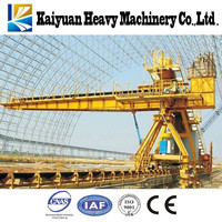 Excellent service the stacker reclaimer named bucket wheel crane,A quality materials handing equipment for Indonesia