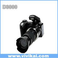 """Professional D3000 Digital still Camera 16.0 mega pixels 3.0"""" LTPS screen with Video function, Voice recorder MP3, MP4"""