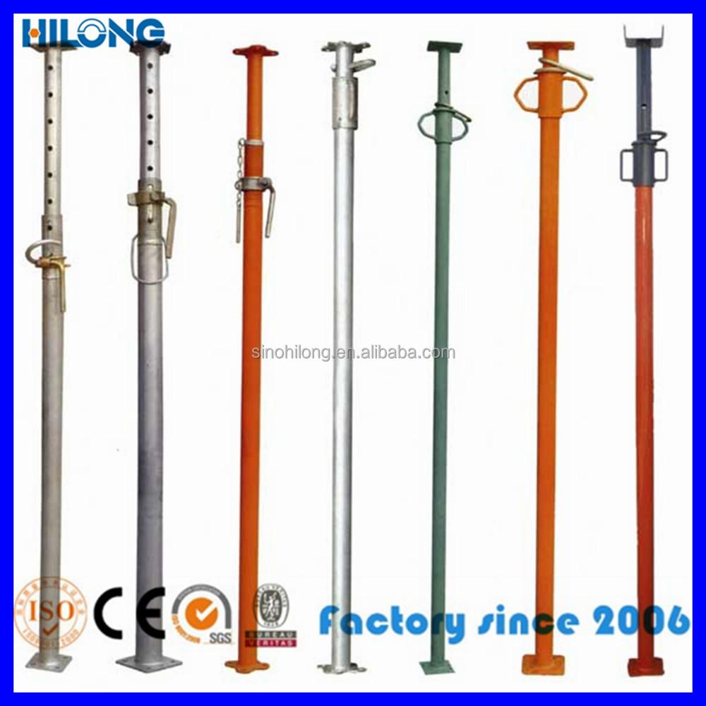 Adjustable Steel Post Shores : Telescopic adjustable steel post shore tubular jack buy