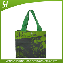 Bolso de compras de algodón Material tela lienzo bolsos mickey de la historieta