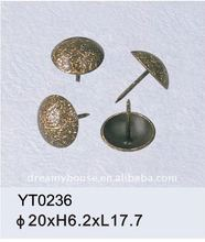 metal upholstery nail , push pin