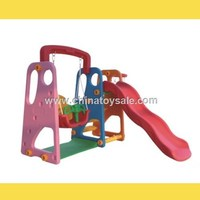 Amusement Park Games New Design kids indoor slide and swing
