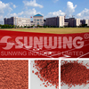 recycled epdm rubber granulates for running track surface