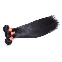 real tangle free brazilian virgin hair straight, Thick end brazilian virgin human hair weave
