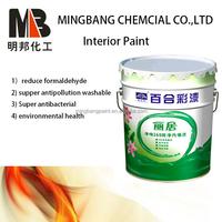 Waterproof emulsion decorative wall paint