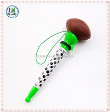 Soft sport ball shaped bounce ball pen , novelty pen