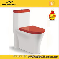 Siphonic colored toilet/color toilet bowl/saso one piece toilet prices