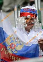 2016 Euro cup world cup football fan helmet mohawk