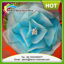 HR pearlized cheaper price 3mm*280pcs 16colors with Silk flowers stamen