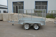 8x4 Box trailer with 900mm cage