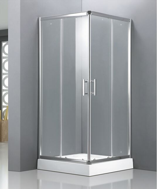 2015 square glass shower enclosure bath shower combo buy