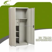 Good design office furniture steel clothing lockers with safe or vault inside