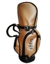 PU Mini wine bottle bag and mini golf bag