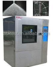 rain spray american military standard water test chamber factory price