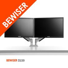Swivel Dual Monitor / computer Desk Dual monitor bracket