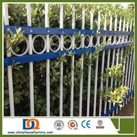 Angle Iron picket Fence for Security