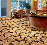 Luxury axminster carpet for hotel with 80% wool 20% nylon carpet WELCOME OEM Order