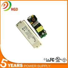 China 0-60W 23-42V AC/DC 127V Tube LED Dimmer Driver Power Supply With 82%