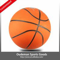 2015 YONO Hot Selling Cheap Price Training Basketball Rubber Basketball