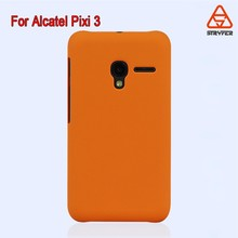 2015 leather phone case waterproof bag water transfer printing Blank Phone cover case for Alcatel Pixi 3(4.5)/4027N