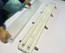 2x36w ip65 waterproof lighting fixture