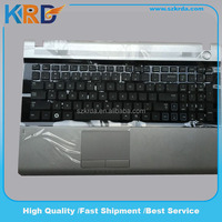 US UK SP IT FR keyboard For Samsung RV511 RV515 RV520 laptop keyboard with Palmrest Touchpad