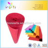 craft paper for kids/multicolour crepe paper sheets factory