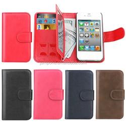 REMOVABLE Detachable Retro Vintage wallet leather case pouch for Apple iPhone 4 4S 4G
