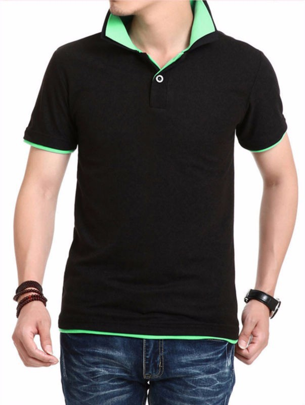 P36 wholesale polo shirt design with combination china for Buy wholesale polo shirts