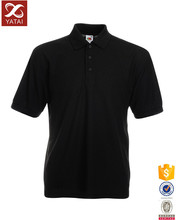 High Quality Cheap Black Polo T Shirts Latest Design