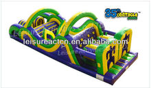 inflatable 35ft Inflatable Obstacle course playground obstacle course for kids