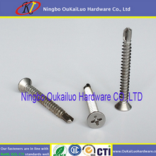 Self Drilling Screw carbon and stainless International standard spare parts for china self drilling hollow anchor bolt grouting