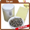 Taiwan high quality luxury round hakata doll tea storage tea tins