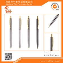 Twist open ballpoint pen , novelty ball pen, metal writing pen